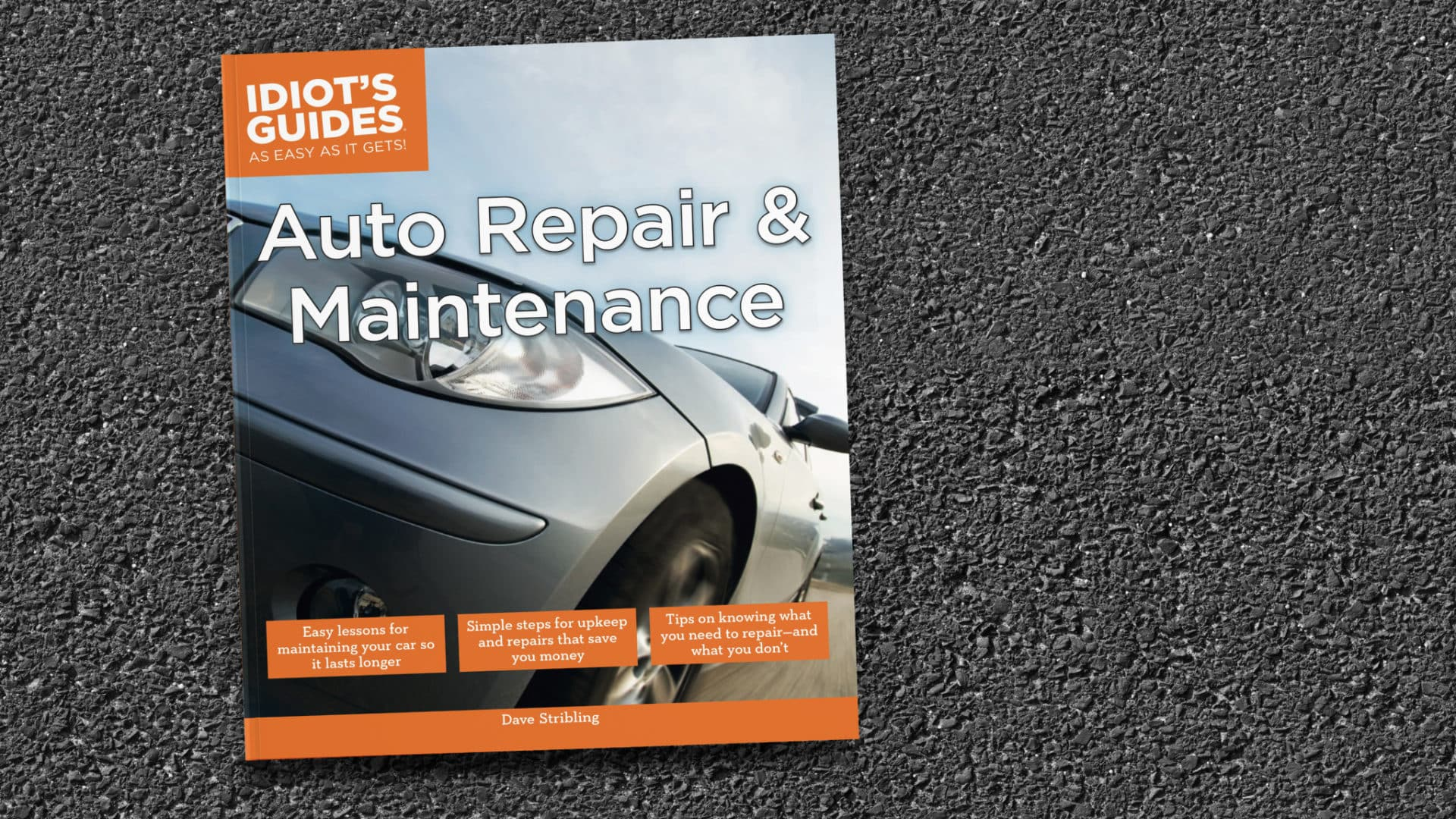 Idiot's Guides: Auto Repair and Maintenance - cover banner