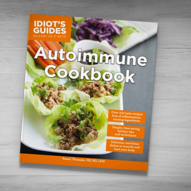 Idiot's Guides: Autoimmune Cookbook - cover banner