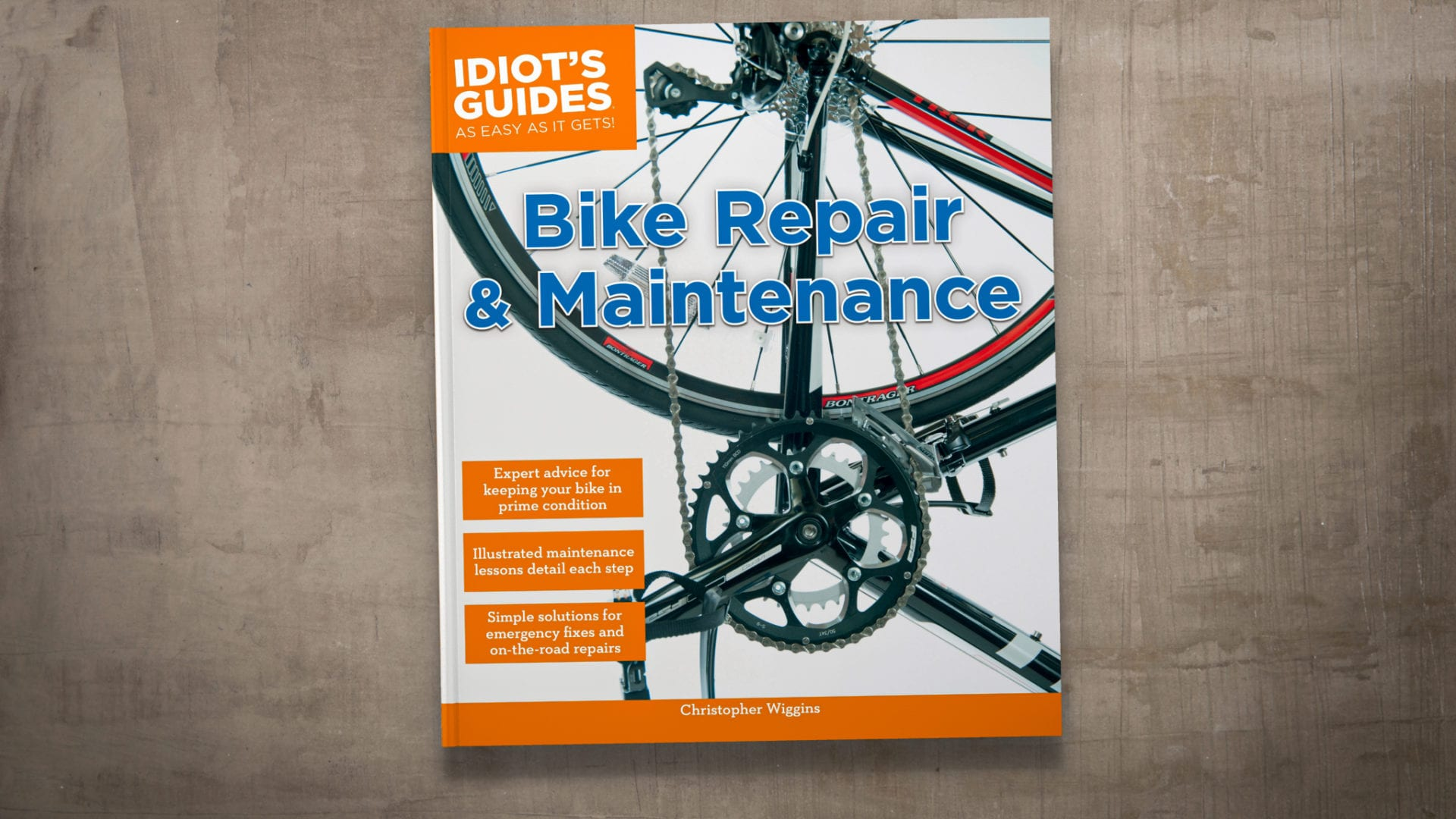 Idiot's Guides: Bike Repair and Maintenance - cover banner