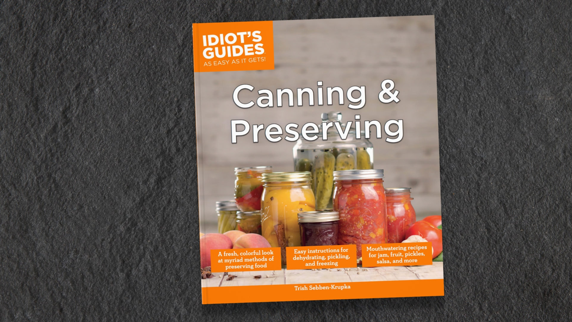 Idiot's Guides: Canning and Preserving - cover banner