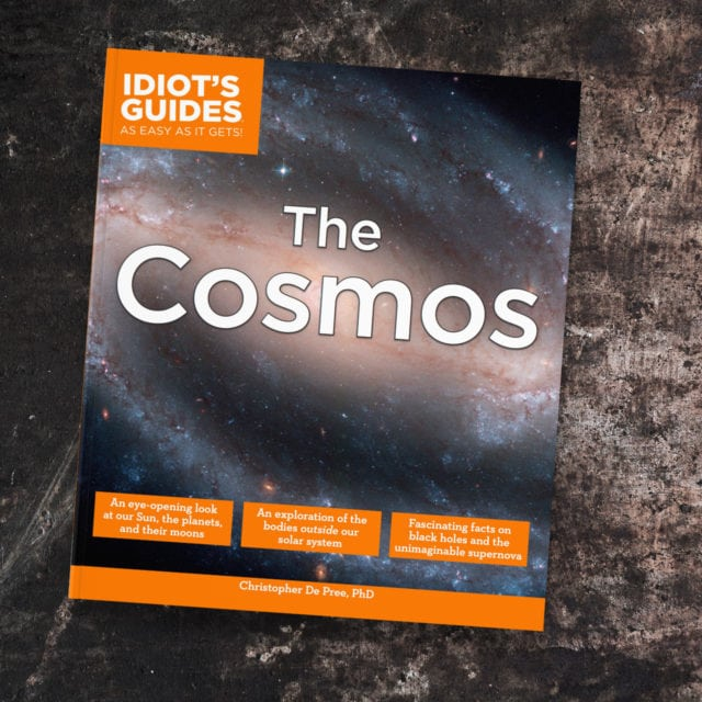Idiot's Guides: The Cosmos - cover banner
