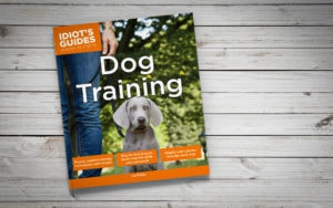 Idiot's Guides: Dog Training - cover banner