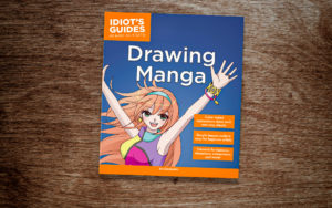 Idiot's Guides: Drawing Manga - cover banner