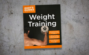 Idiot's Guides: Weight Training - cover banner
