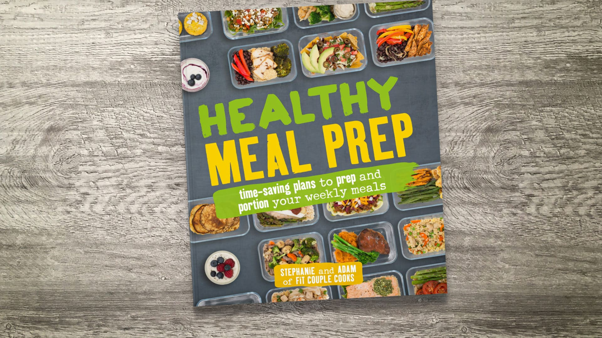Healthy Meal Prep - Jacket Front