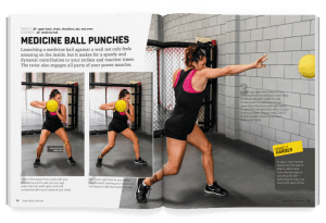 Medicine Ball Punches