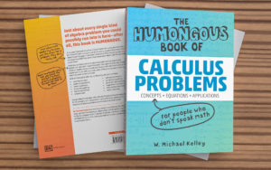 Front and back views of two Humongous Books