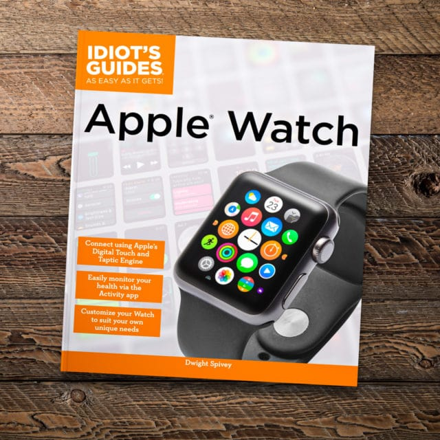 Idiot's Guides: Apple Watch - cover banner