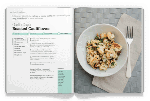 Garlic Caper Roasted Cauliflower